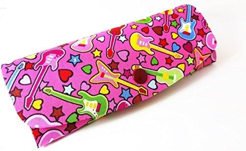Dunelm Damen oder Mädchen Rock & Roll, Schauspiel/Brillenetui in kräftigen-Pink. Ein Cooles Weg zu schützen Ihr Spezifikationen.