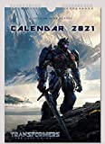 Transformers Wall Calendar 2021 Optimus Prime Bumblebee A4 New Sealed