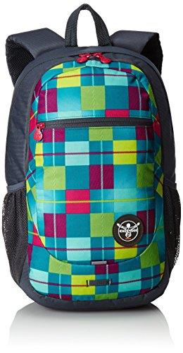 Chiemsee Rucksack Techpack, blau/pink/gelb, 31 x 18 x 47 cm, 0.1 Liter