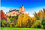 Puzzle 500 Piezas Puzzle de Madera Niños España Castillo Segovia