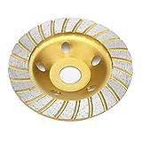 HHOSBFSS Rueda De Molienda De Segmento De Diamante 125x22mm, Disco De Corte De Piedra De Molienda, Adecuado para Mármol, Granito, Cerámica