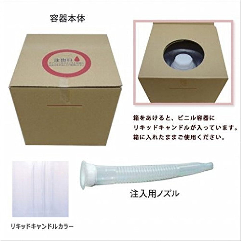 ビート請求可能打たれたトラックカメヤマキャンドル(kameyama candle) リキッドキャンドル5リットル 「 クリア 」