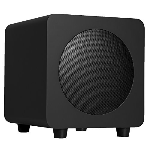 Find Discount Kanto SUB6 6-inch Powered Subwoofer, Matte Black