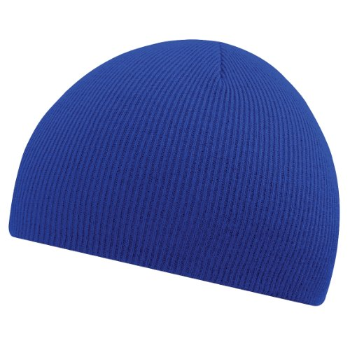Beechfield Bonnet en tricot pour homme - Bleu - Taille Unique