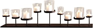 PierSurplus Pedestal Candle Centerpiece w/Nine Metal Candle Holders CL229875