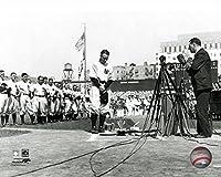 "Yankees Lou Gehrig Retirement Speech 8"" x 10"" Baseball Photo"