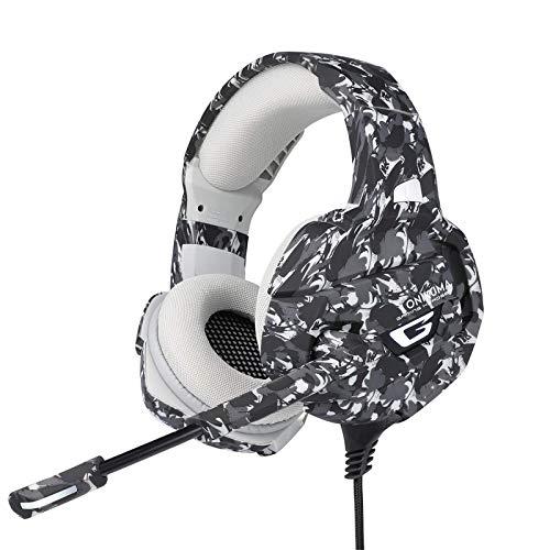 7.1 Auriculares Estéreo Virtuales para Juegos con Subwoofer Hi-Fi Y MicrófonoCompacto Laptop