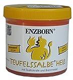 Pferdesalbe Enzborn Teufelssalbe HEISS 200 ml, ein intensiv wärmendes Pflegegel mit der natürlichen Kraft der Teufelskralle und der...