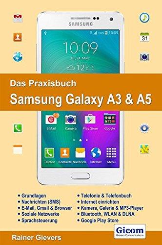 Das Praxisbuch Samsung Galaxy A3 & A5 - Handbuch für Einsteiger