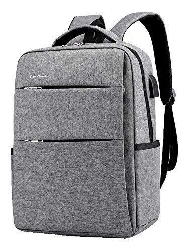 【oscmart】リュック リュックサック PC メンズ USB USBポート 大容量 バックパック 通勤 通学 出張 旅行 パソコン 充電 ビジネスリュック 15.6インチ 軽量 ビジネスバッグ レディース 撥水