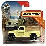 FM Cars Matchbox 51 Willys Jeep Pickup 4x4 Mbx Construction 15/20