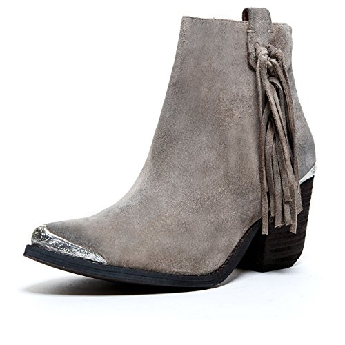 Jeffrey Campbell 'Pascal', Taupe Distressed Suede, 10