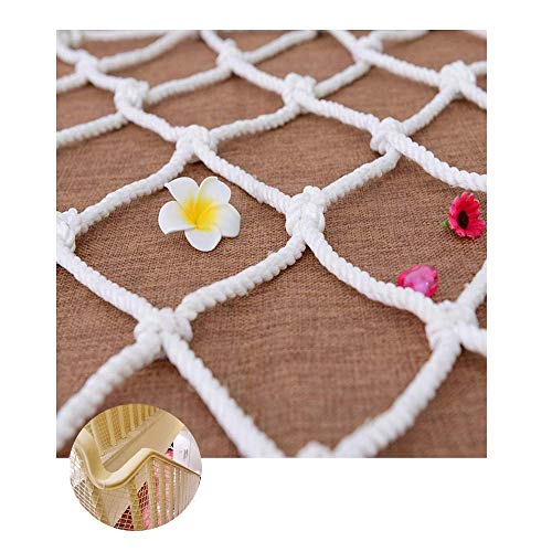 Safe Net, Indoor & Outdoor Safe Net - Pet and Toy Safety Net Baby Safety Rail Net - Trapleuning en raamveiligheidsnet
