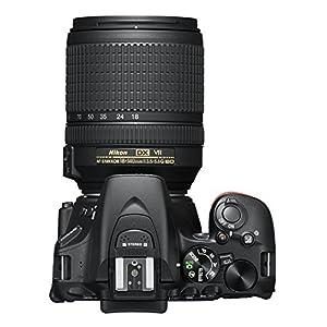 Nikon D5600 Digitale Spiegelreflexkamera, Schwarz