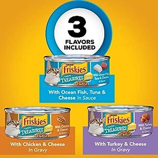 اسعار Purina Friskies Tasty Treasures Adult Wet Cat Food Variety Pack