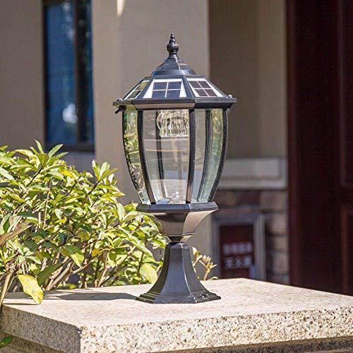 Slreeo Neue Solar-Spalte Lampe Outdoor-LED-Beleuchtung Torpfosten...