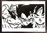 Dragonball Poster Goku Vegeta Piccolo Majin Bu Plakat