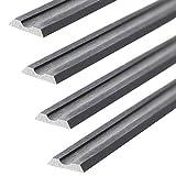 4 CARBIDE PLANER BLADES 82x5.5x1.1 mm for Black & Decker B & D DN710 / K / KW715 / KW750
