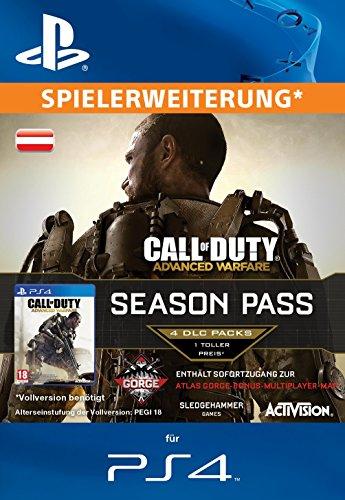 Call of Duty: Advanced Warfare - Season Pass [Spielerweiterung] [PS4 Code für österreichisches Konto]