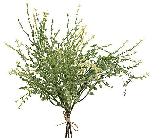 Thymian Blätterbusch grün Quendel Kunstpflanze Heilkraut 1 Bund künstlich 35cm Heimdeko Tischdeko