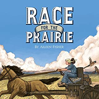 Race for the Prairie audiobook cover art