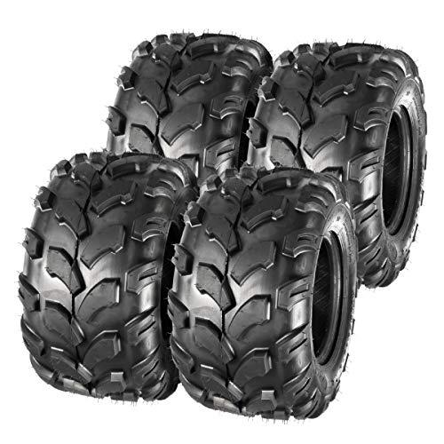 MaxAuto Sport ATV Tires 18x9.5-8 Lawn Mower Tires ATV UTV Off-Road Tires Knobby Sport Golf Cart Tractor Turf Tire 18x9.50x8 All-Terrain 4PR P311 Set of 4