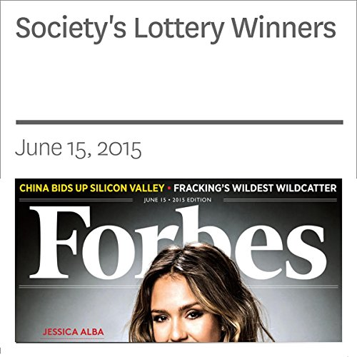 Society's Lottery Winners audiobook cover art