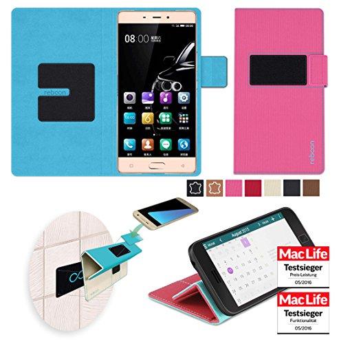 reboon Hülle für Gionee Marathon M5 Enjoy Tasche Cover Case Bumper | Pink | Testsieger