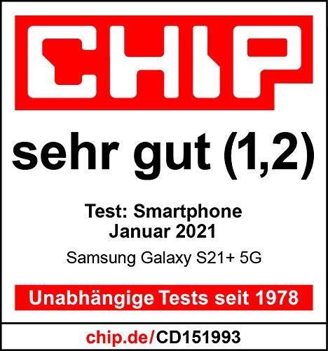 Samsung Galaxy S21+ 5G, Android Smartphone ohne Vertrag, Triple-Kamera, Infinity-O Display, 256 GB Speicher, leistungsstarker Akku, Phantom Silver - 7