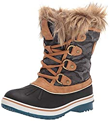 cheap GLOBALWIN Women's 1838 Camel Winter Snow Boots 8.5M