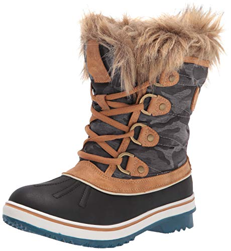 GLOBALWIN Women's 1838 Camel Winter Snow Boots 8.5M