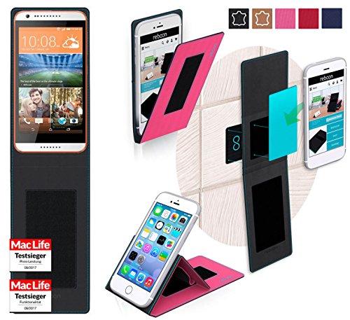 Hülle für HTC Desire 620G Tasche Cover Hülle Bumper   Pink   Testsieger