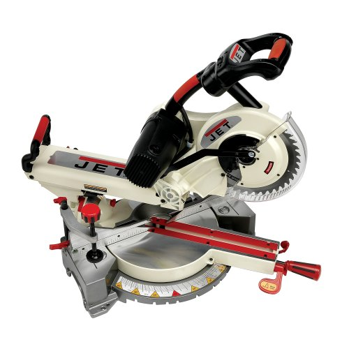Jet JMS-10SCMS 10-Inch Dual-Bevel Slide Compound Miter Saw (707110)