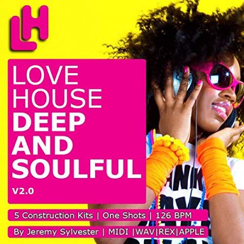 Love House - Deep n Soulful V2 - Download 5 construction kits, WAV, REX2, APPLE LOOPS & MIDI DVD non BOX