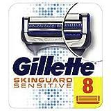 Gillette SkinGuard - Cuchillas de afeitar para hombre (8 unidades)