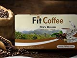 Fit Tea Fit Coffee K-Cup Coffee Weight Loss Coffee Pods ampk Slimming Ketogenic Diet ,Burner Fat Keto Friendly Coffee Dark Roast Arabica Coffee (30) Pods