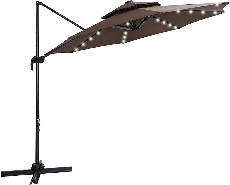 paritariny Patio Umbrella,Outdoor Hanging Free shipping / New Max 55% OFF Um Offset Cantilever