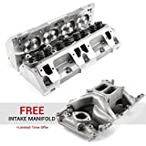 Speedmaster PCE281.2149-PROMO compatible with Mopar compatible with Chrysler SB 318 360 170cc 65cc Hydr-R Complete Aluminum Cylinder Heads