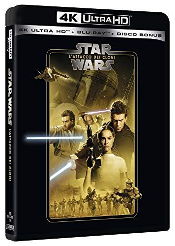 Star Wars - Episodio II - L'Attacco Dei Cloni (Blu-Ray 4K Ultra HD+2 Blu-Ray) [Italia] [Blu-ray]