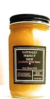 Sea Moss/Irish Moss Edible Gel - 100% Organic, Vegan, Non-GMO - Inspired by Dr Sebi Gold