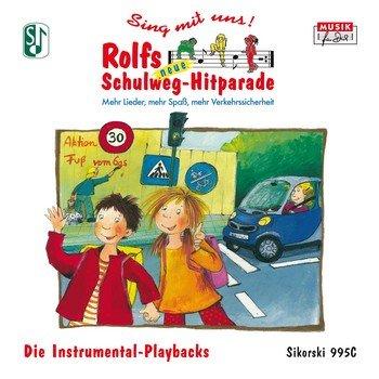 Sing mit uns! Rolfs neue Schulweg-Hitparade: Mehr Lieder, mehr Spaß, mehr Verkehrssicherheit. Die Instrumental-Playbacks (Ed. 995C)