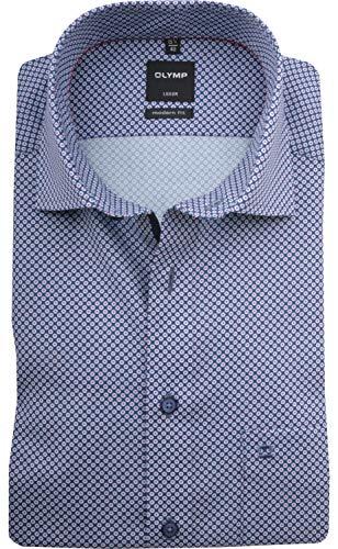 OLYMP Herren Hemd Modern Fit Kurzarm rot (74) 43