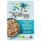 Kellogg's Cereales sin Azúcar Añadido Frutos Secos - Paquetes de 300 gr