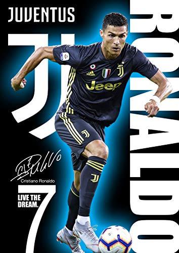 Ronaldo Poster Nr. 500, signiert (Kopie): Cristiano Ronaldo 2018, A3, 420 x 297 mm