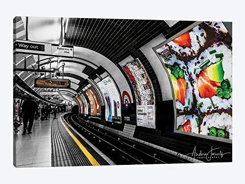 Moldura de parede The Way Out To Bakerloo para decoração de casa para sala de estar, quarto