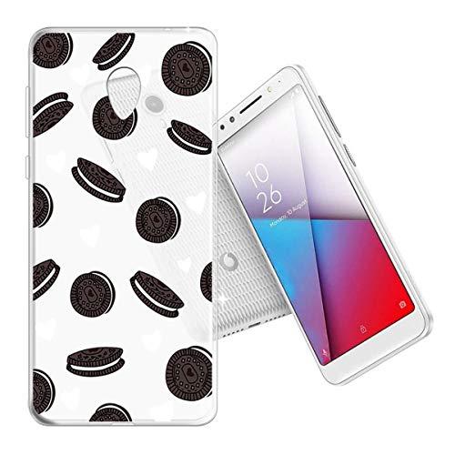 KJYF Custodia Biscotto per Vodafone Smart N9 Lite Cover, Protezione Posteriore Morbido Silicone...