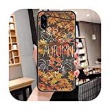 Hello Autumn Sign Cute Phone Case For Huawei Honor 6 7 8 9 10 10i 20 A C X Lite Pro Play Noir Luxe...