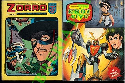 Star Comix - Beetle Bailey - Eroi della TV - Zorro - Ivanhoe - L'uomo ragno.