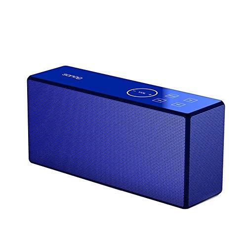 R-SOUNDBAR Multifunktions Bluetooth Lautsprecher,Lauterer Lautstärketreiber, Verstärkter Bass, Perfekter Kabelloser Lautsprecher Für Telefon, Tablet, Fernseher Und Dual-Passiv-Radiatoren,Blue
