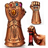 Creative Infinite War Thanos Gloves Fist Opener Beer Bottle Openers Cool Beer Cola Wine Cap Opener Gift for Marvel Avengers Fans